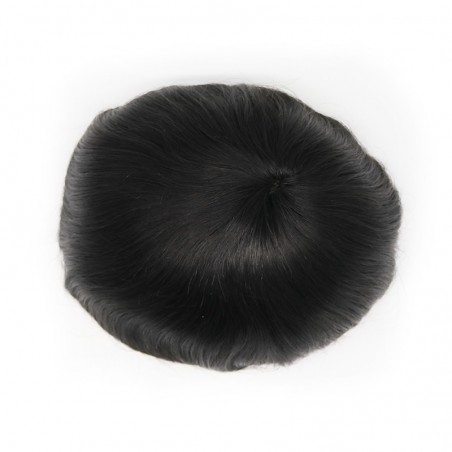 Felix Men's Toupee Hair Pieces | Durable Base with Lace in the Front | Thick Hair