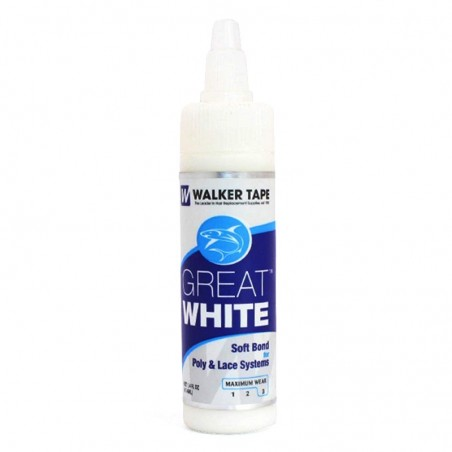 Toupee Glue Walker Great White | Water Based | Skin Safe and Bacteria Resistant